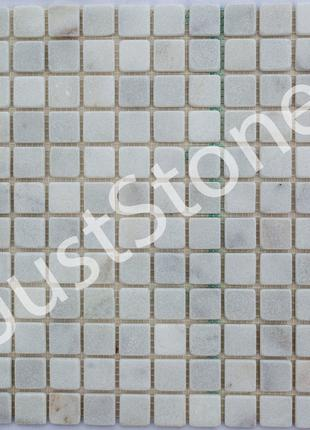 Белая Мозаичная плитка Матовая МКР-2СВ (23х23)
