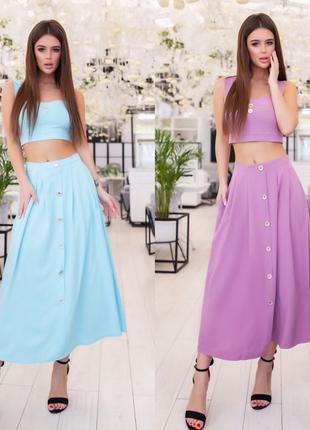 Топ и юбка,женский костюм,модные платья,стильная одежда,сарафаны