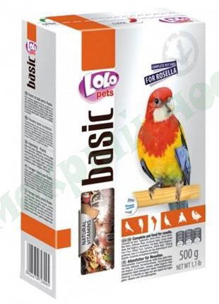 Корма для птиц Lolo pets