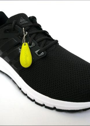 Adidas energy cloud черные кроссовки для бег оригинал сетка 49