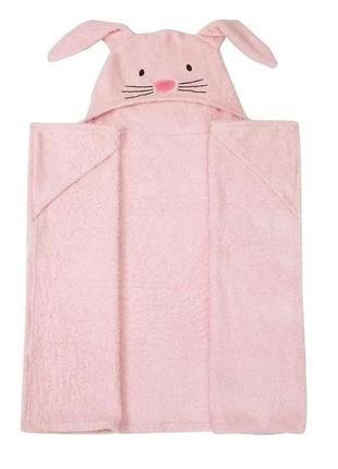 Детское полотенце george с капюшоном конверт для новорожденной...
