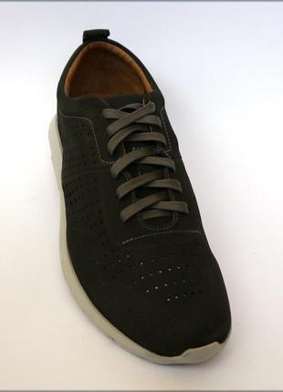 Мужские летние туфли кроссовки кожа marc joseph new york ориги...