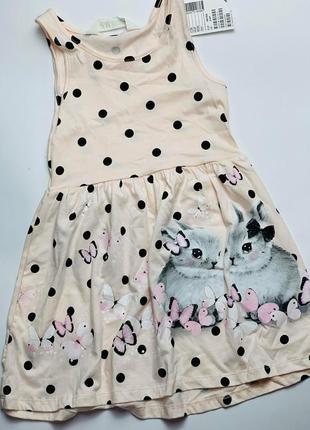 Платье h&m для девочек на лето