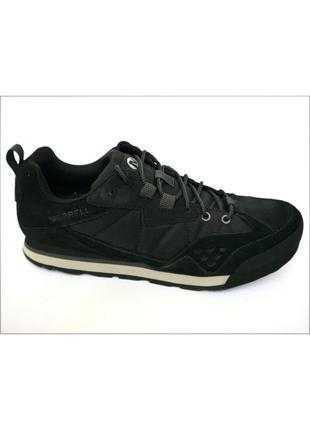 Merrell burnt rock tura черные мужские кроссовки туфли оригинал