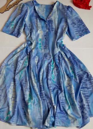 Платье новое миди 48 размер принт скидка распродажа нарядное б...