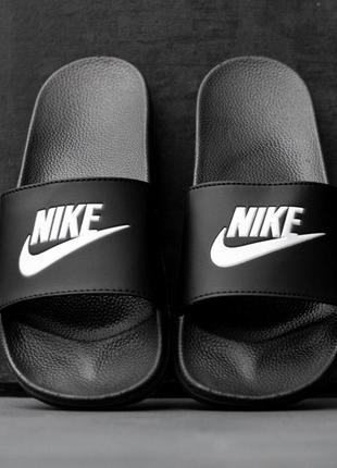 Тапочки nike black