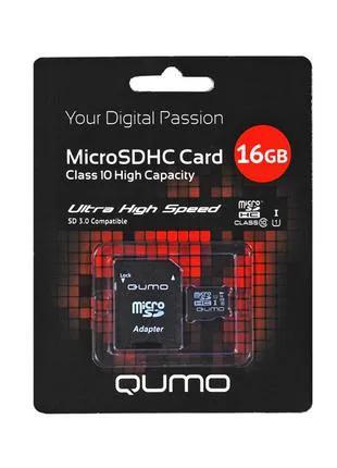 Карта памяти Qumo 16 GB class 10
