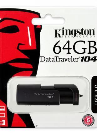 Флешка Kingston  DT104 64 GB