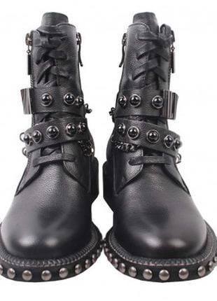 Ботинки демисезонные  в стиле гранж софт  reuchll натуральная ...