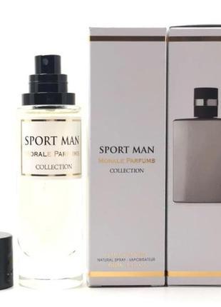 Парфюмированная вода для мужчин версия chanel allure homme sport