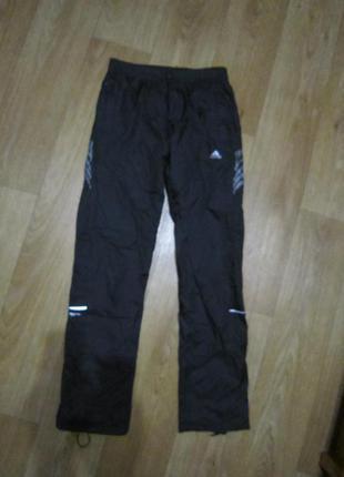 Спортивные штаны плащевка adidas, р.42-44