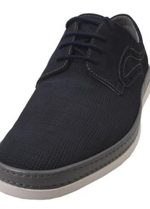 Туфли на плоской подошве  marco piero натуральный нубук весна ...