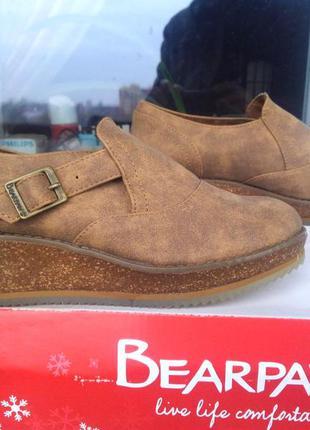 Американские туфли bearpaw. размер 36