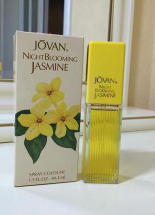 Духи винтажные jovan night blooming jasmine, 44 мл