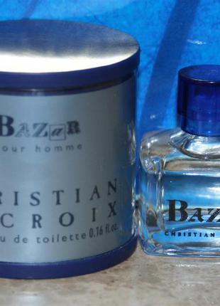 Винтажная миниатюра christian lacroix bazar pour homme