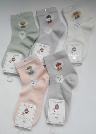 Носки детские для девочек сеточка