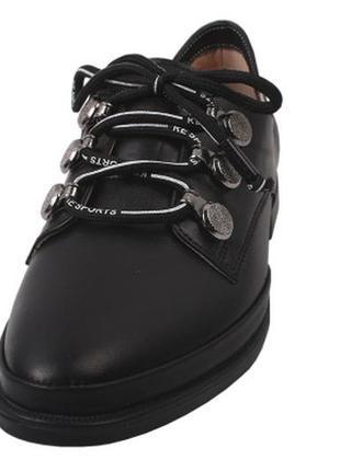 Туфли на шнурках aquamarin натуральная кожа , весна 2019