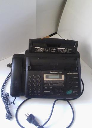 Факс-аппарат Panasonic KX-FP158 для бумаги, копир, автоответчик