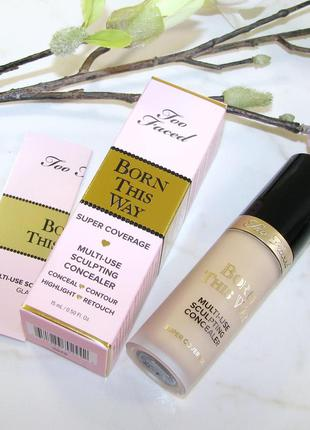 Консилер для лица too faced born this way multi-use sculpting ...