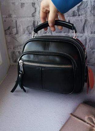 Женская кожаная сумка клатч кожаный из натуральной кожи
