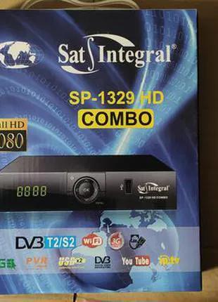 Sat-Integral S-1329 HD Combo Metal - комбинированный DVB-S/S2/T2