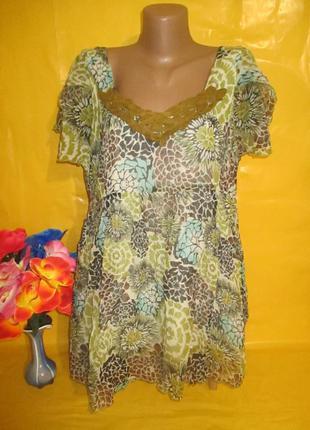 Очень красивое женское платье-туника грудь 50-62 см joe browns...