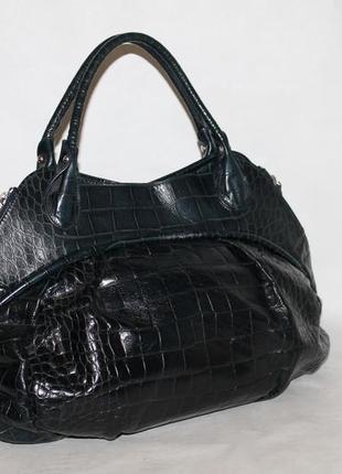 Большая кожаная сумка furla 100% натуральная кожа