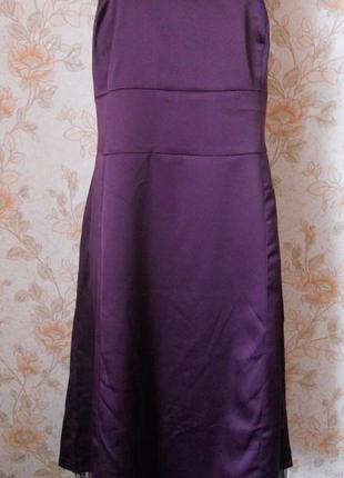 Идеальное,вечернее платье. фиолетового цвета. на бирке- 1х р-р...