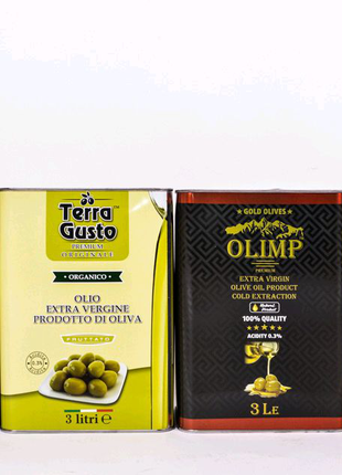Оливковое масло 3л
