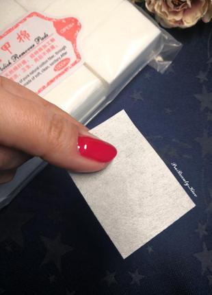Салфетки безворсовые для маникюра плотные probeauty