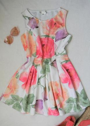 Яркое летнее платье, размер xxl