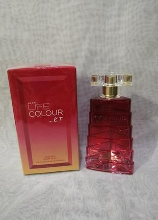 Парфюмерная вода avon life colour by kenzo for her для женщин ...