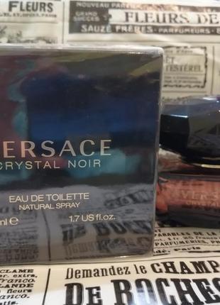 Versace crystal noir туалетная вода 50мл женская туалетная вод...