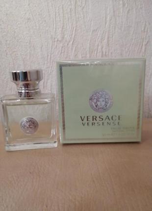 Versace versense женская парфюмированная вода 30мл