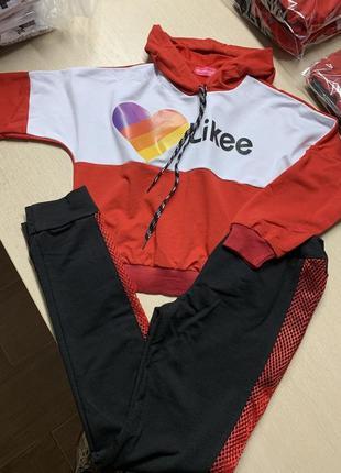 Спортивный костюм для девочки likеe
