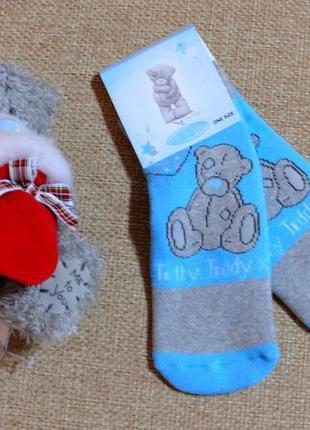 Шикарные махровые носочки-слиперы от carte blanche из англии н...