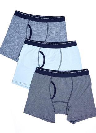 Трусы trunks, 3 штуки в упаковке dunnes, англия. размеры m, l ,xl