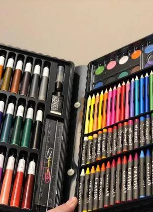 Детский набор для рисования и творчества! 150 ПРЕДМЕТОВ!