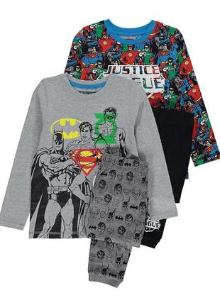 Шикарные пижамки 2 шт. george из англии. размер 6-7 лет