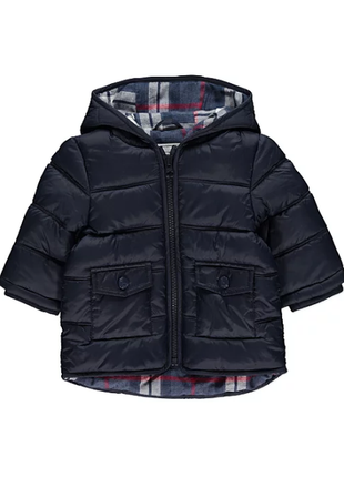 Стеганая курточка от george. размер 9-12,12-18 мес