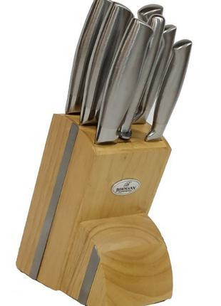 Набор ножей с подставкой 7 предметов Bohmann BH 5041 оригинал ...