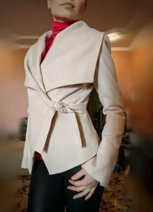 Женское полупальто, пальто, пиджак, кашемировое