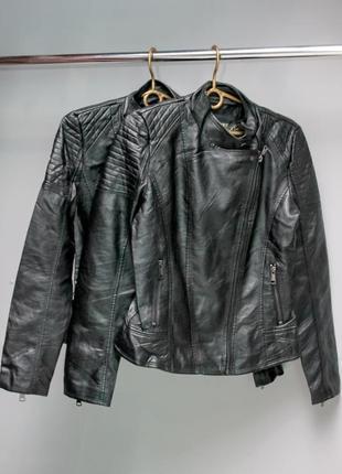 Куртка женская из новой коллекций весна 2020 (экокожа)