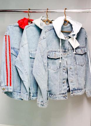Джинсовая женская куртка из новой коллекций весна 2020