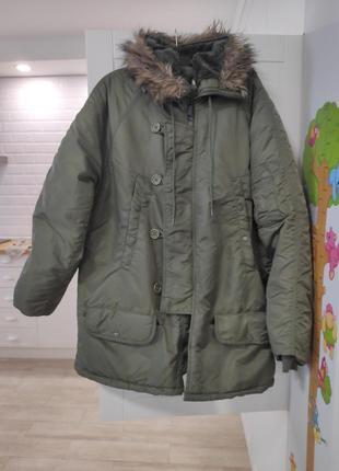 Куртка, пуховик, парка mil tec n3b