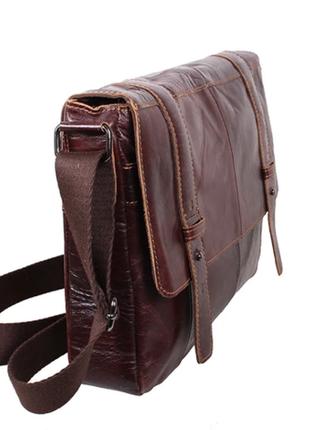 Качественная большая сумка мужская (натуральная кожа)