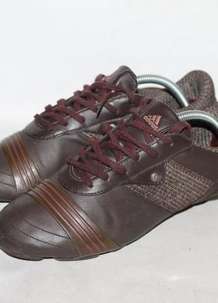 Кожаные кроссовки adidas 39 размер