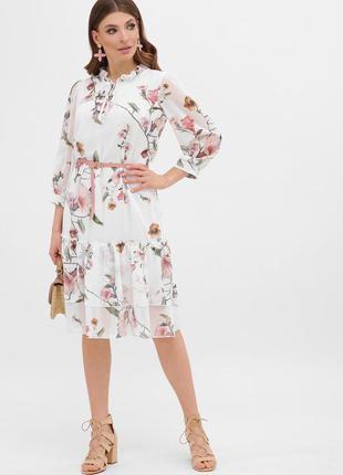 🔥хит🔥 весенние платье с цветами