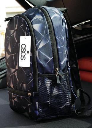 Рюкзак городской с принтом мужской женский портфель сумка для ...
