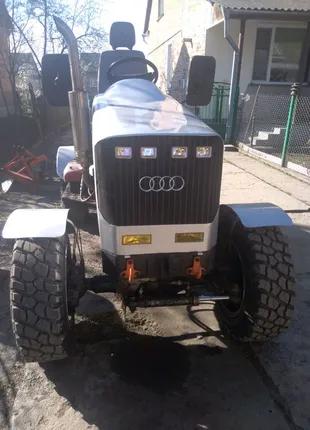 Саморобний міні трактор